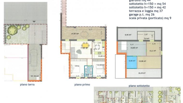 Appartamento semi indipendente in costruzione